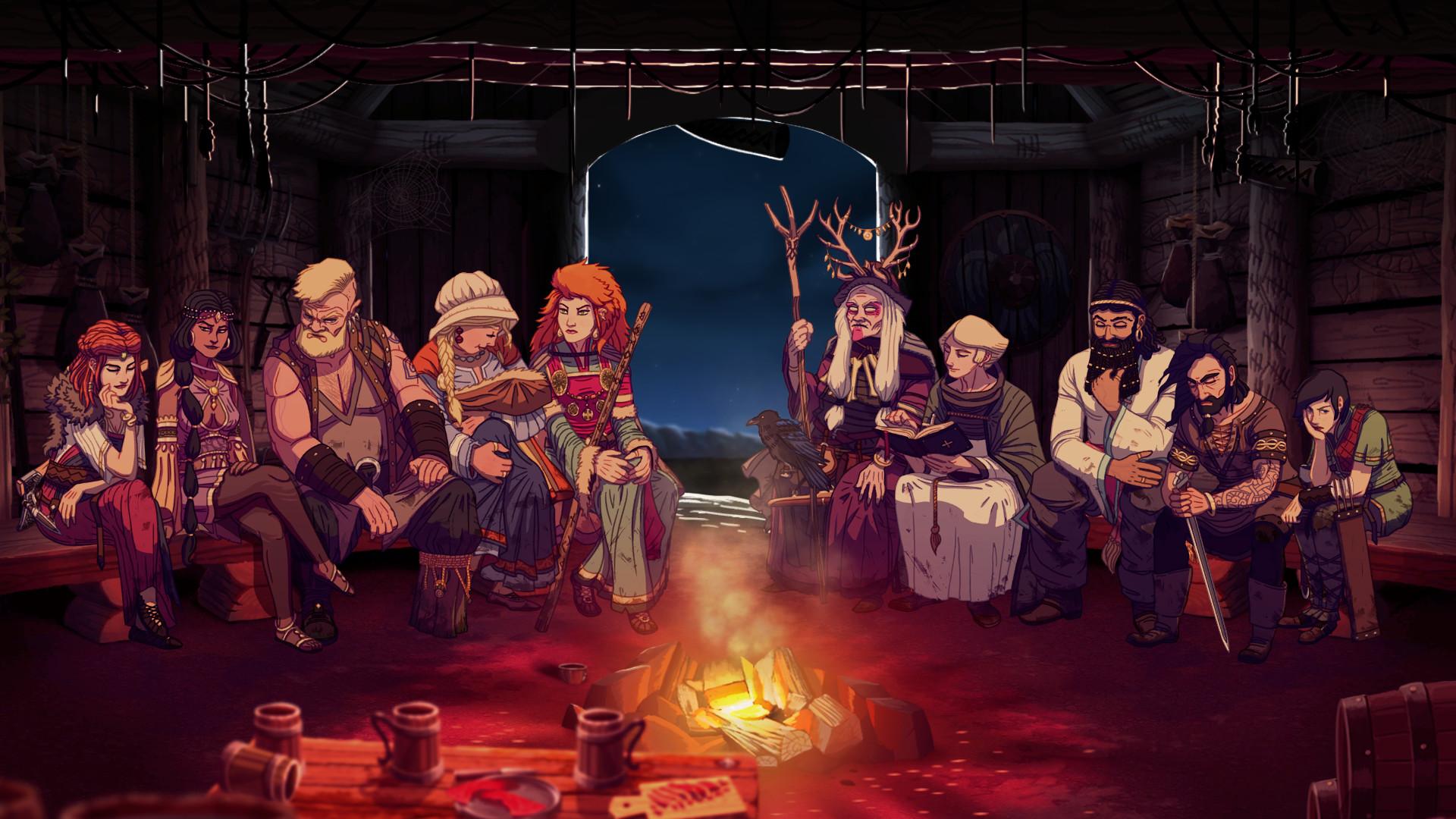 Dead in Vinland relata la supervivencias de una familia vikinga