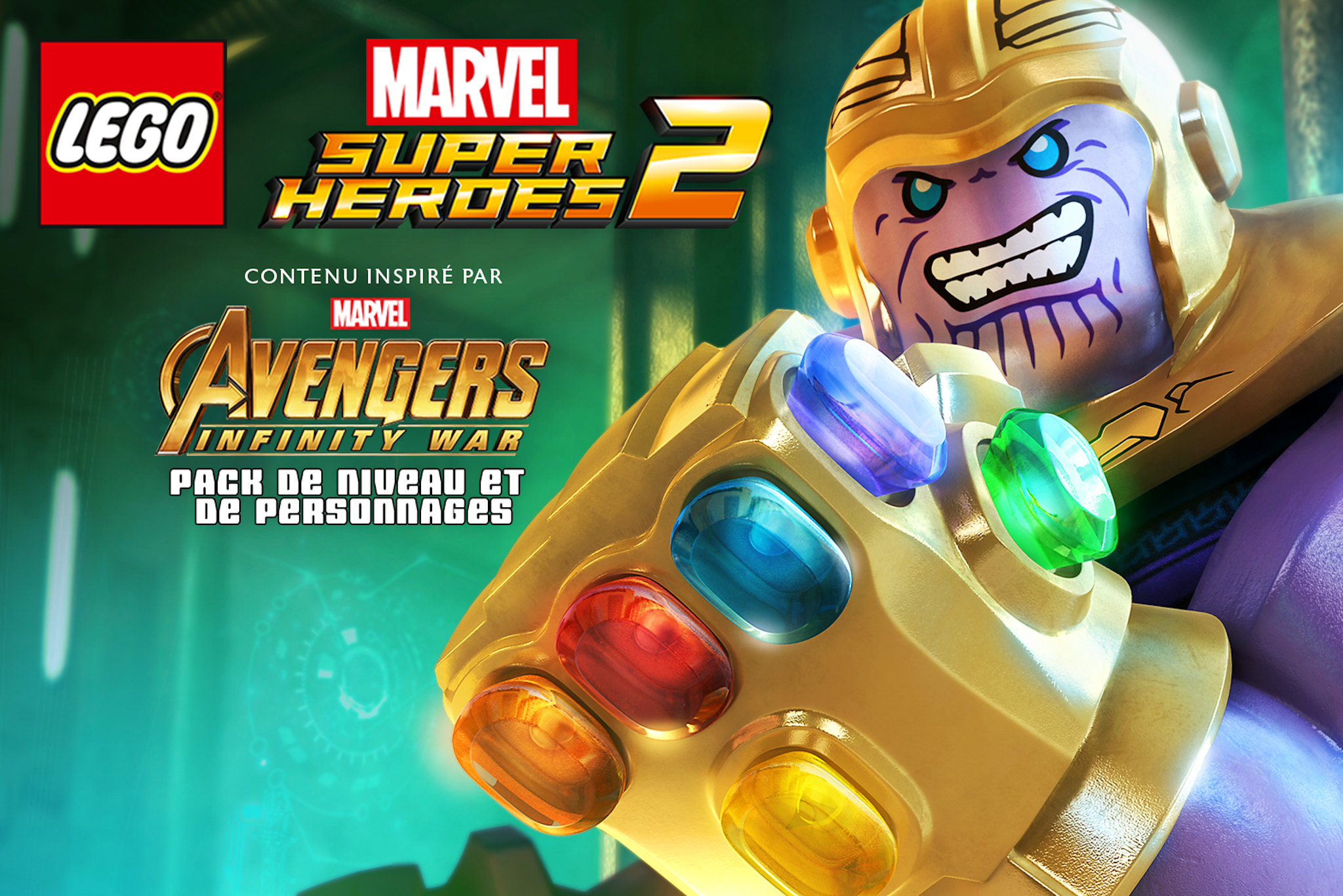 LEGO Marvel Super Heroes 2: Los Vengadores: Infinity War