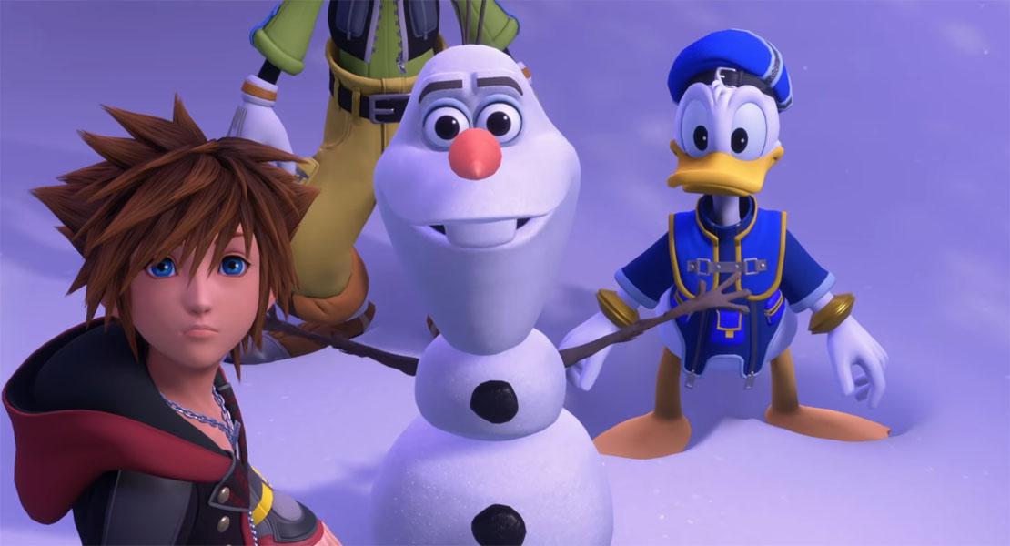 Kingdom Hearts 3 presenta el mundo de Frozen