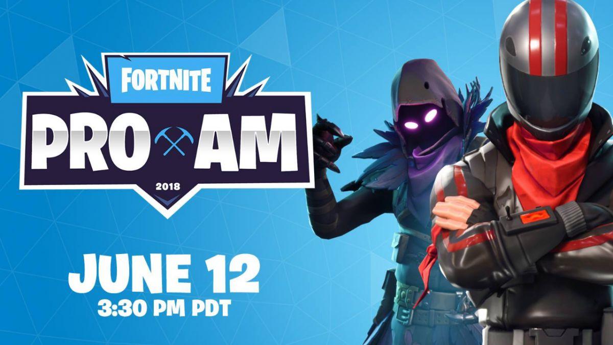Esta noche se celebra el torneo Pro - Am de Fortnite