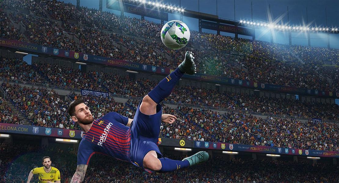 Pro Evolution Soccer 2019 se muestra con un tráiler en el E3