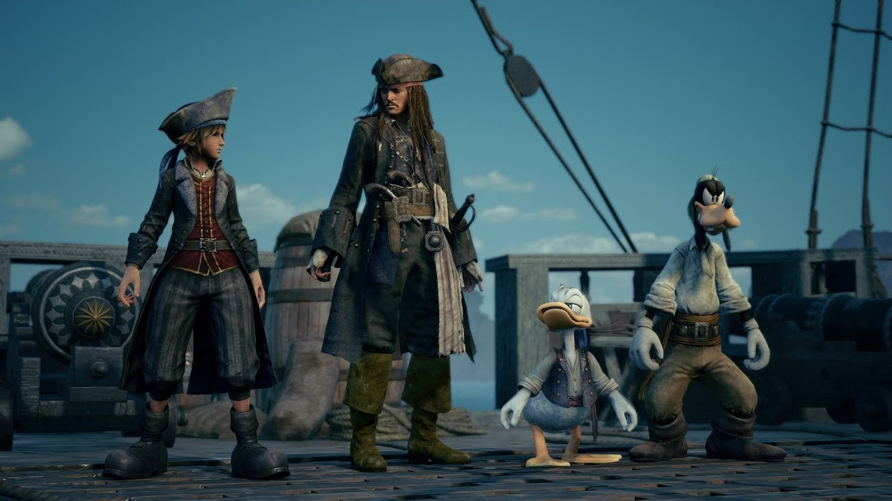 Kingdom Hearts III se deja ver en la conferencia de Sony