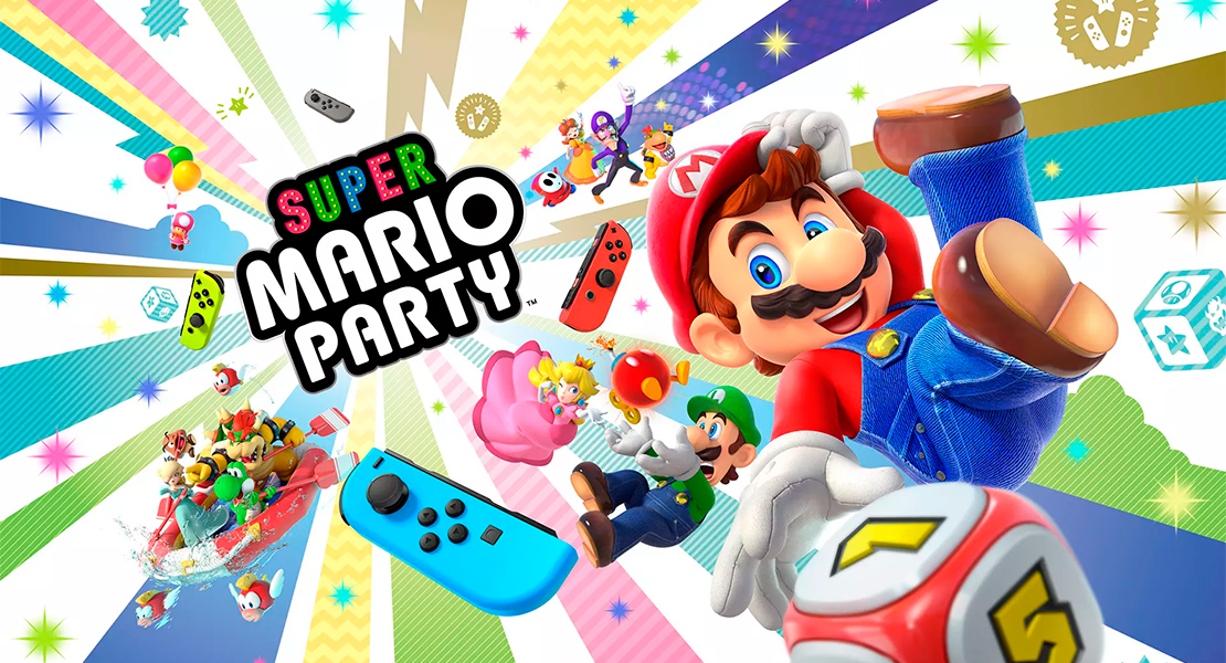 Nintendo anuncia Super Mario Party para Switch