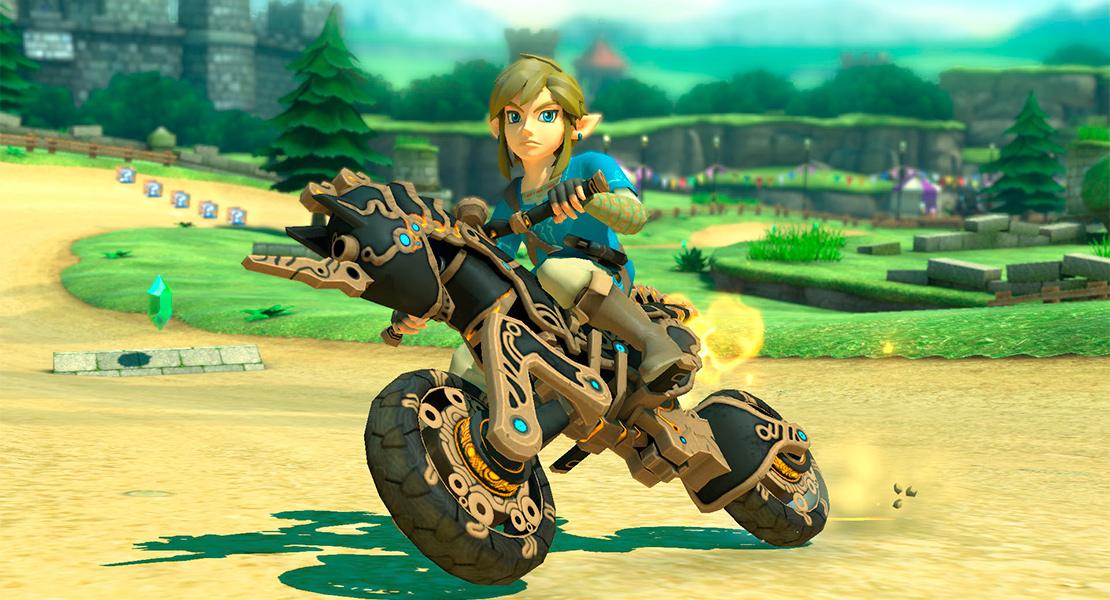 Mario Kart 8 Deluxe recibe nuevos contenidos de Breath of the Wild