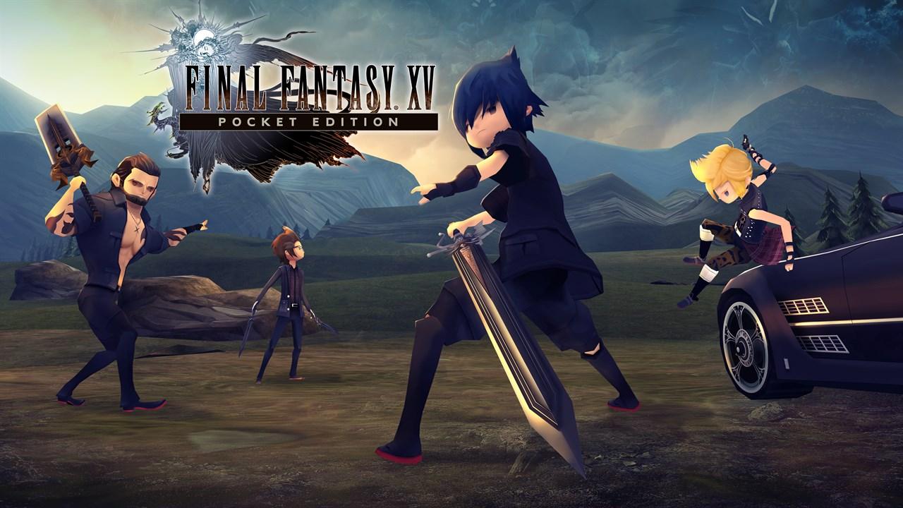 Final Fantasy XV: Pocket Edition HD ya está disponible en consolas