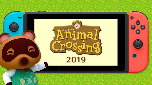 El tanuki Tom Nook anuncia un nuevo Animal Crossing para Switch