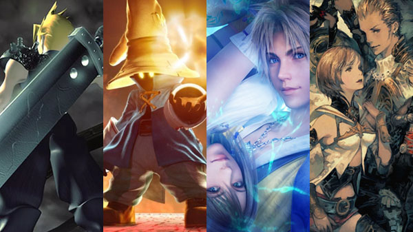 Cinco entregas de Final Fantasy llegarán a Switch y Xbox One