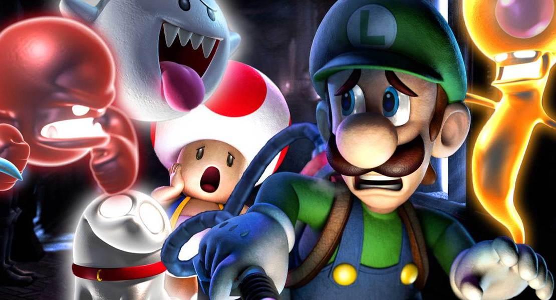 Luigi's Mansion 3 confirmado para Nintendo Switch