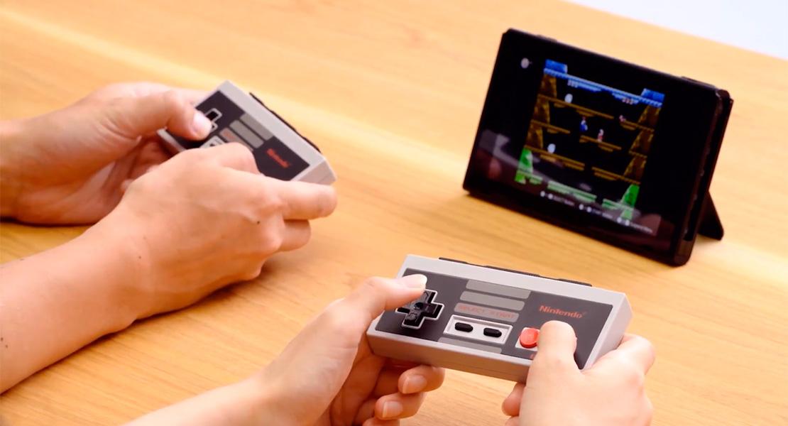 Nintendo presenta los mandos de NES para Switch