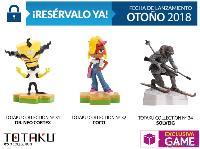 Coco y Cortex serán figuras Totaku