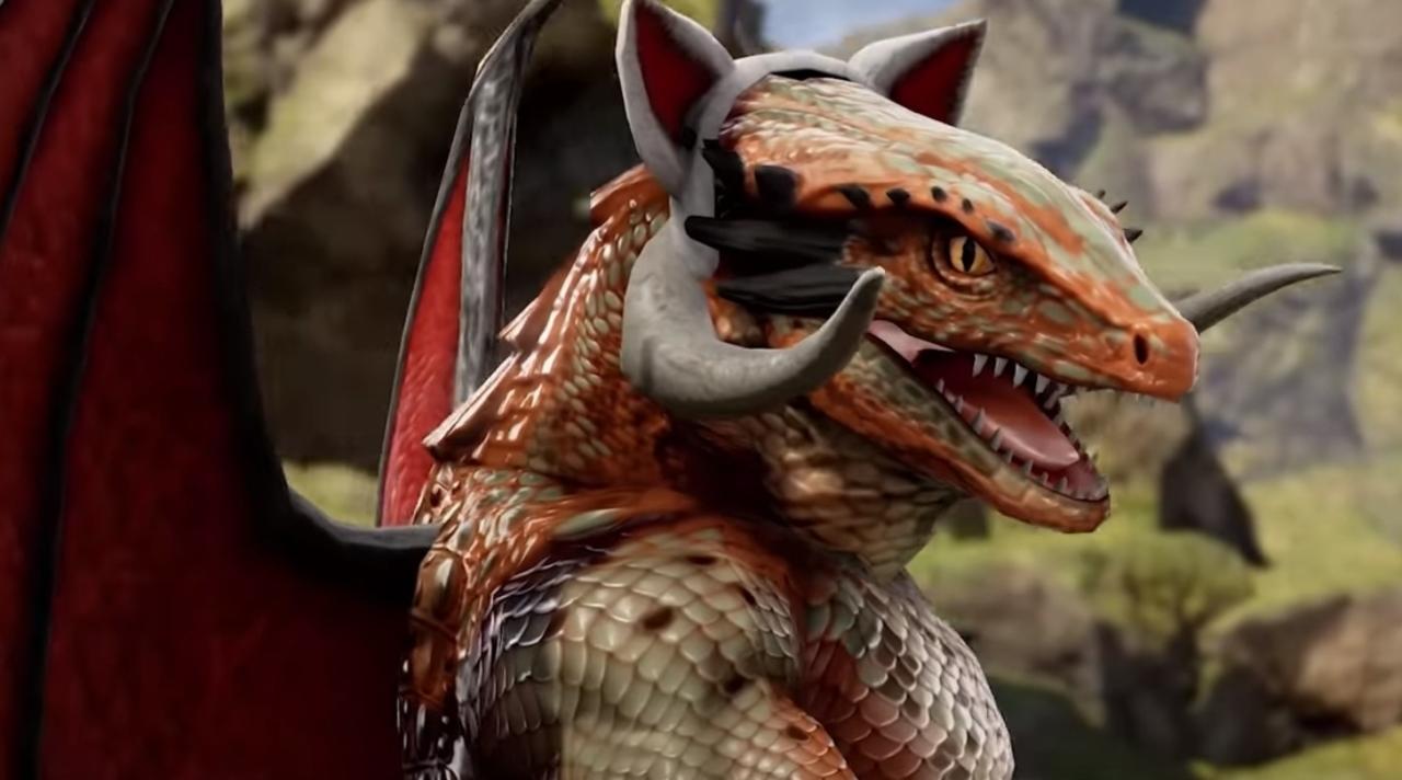 El Lagarto Mago será el avatar de la humanidad en SoulCalibur VI