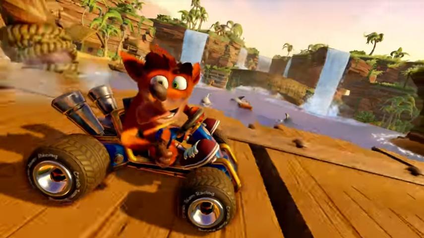 Rememora aquellas tardes de verano con Crash Team Racing Nitro-Fueled