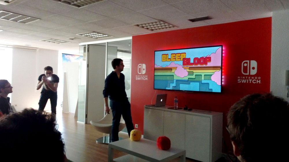 Asistimos a la presentación de Bleep Bloop para Switch con Ludipe