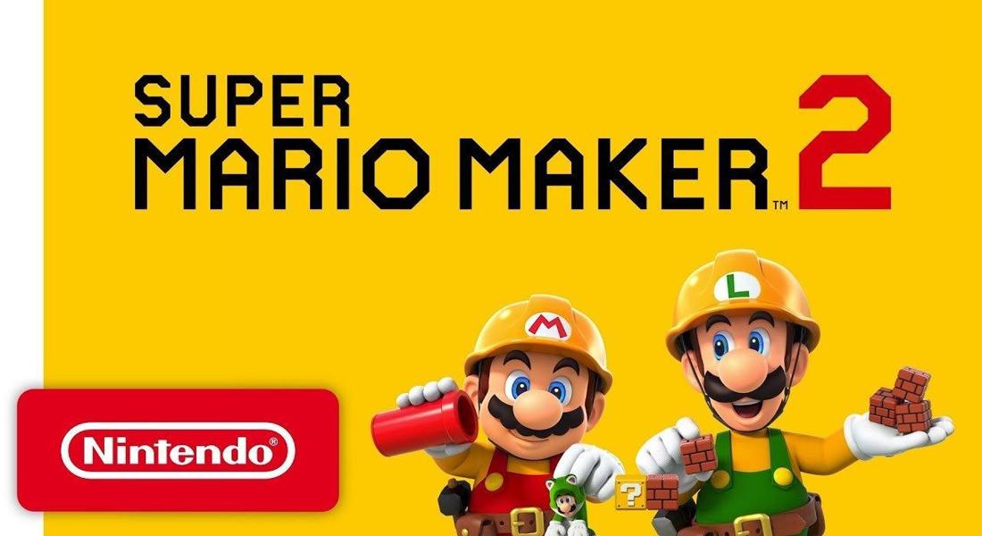 Confirmada la segunda parte de Super Mario Maker para Nintendo Switch
