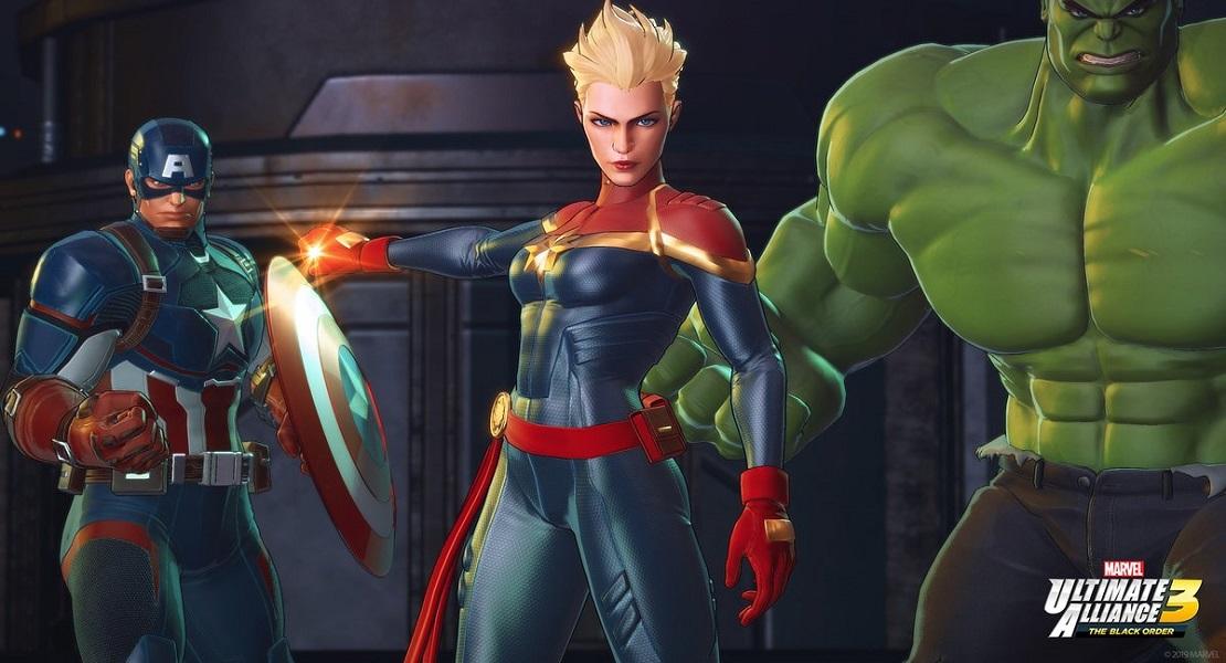 Marvel Ultimate Alliance 3: The Black Order llegará a Nintendo Switch este verano