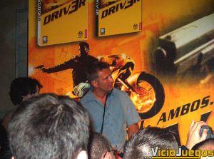 Presentación de Driv3r en España