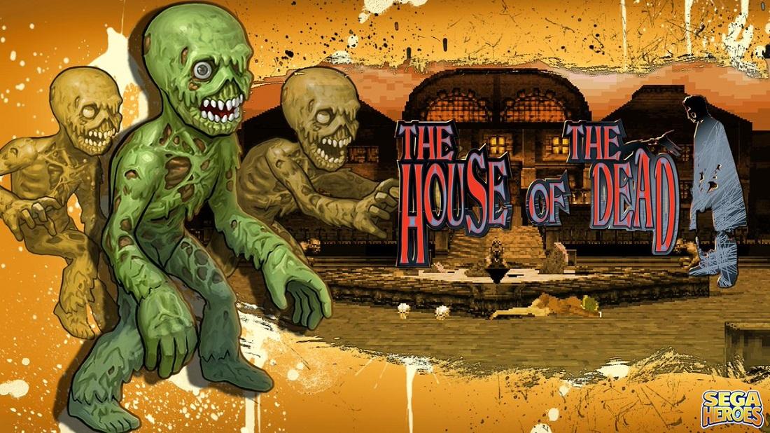 Dr. Curien presenta a la criatura número 40 de SEGA Heroes, originaria de The House of the Dead