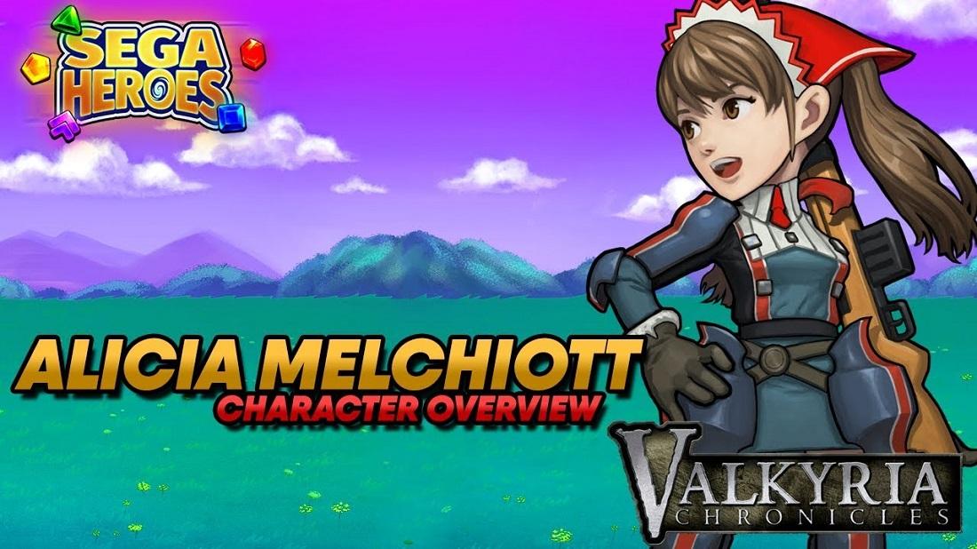 Alicia Melchiott se estrena en SEGA Heroes como el primer personaje de Valkyria Chronicles