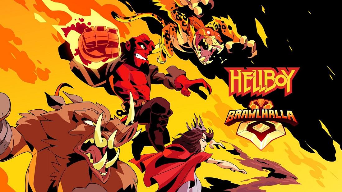 Hellboy y sus coleguitas infernales ya están en Brawlhalla