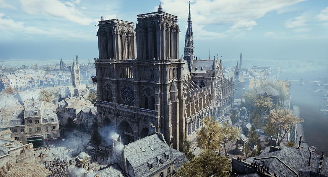 Assassin's Creed: Unity podría ser de gran ayuda en la reconstrucción de Notre Dame
