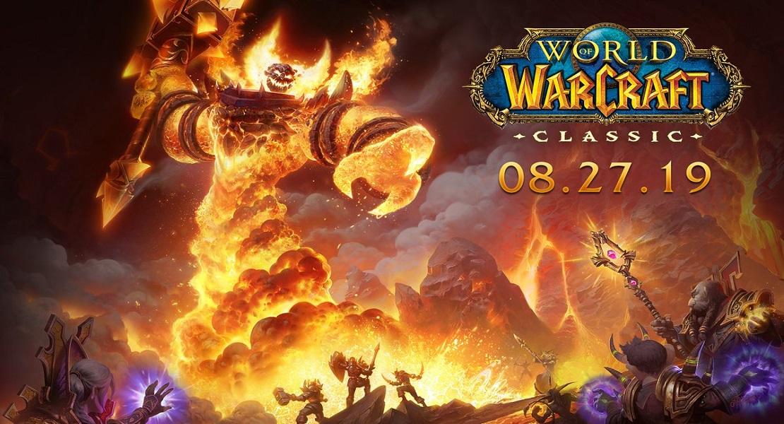 World of Warcraft: Classic se lanzará el próximo 27 de agosto