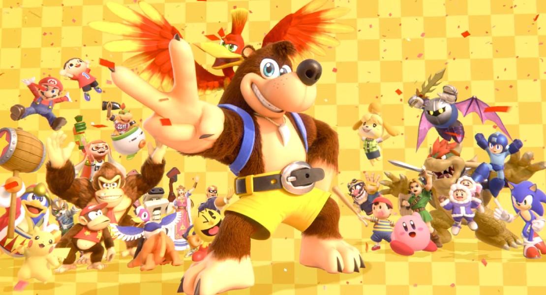 Banjo, Kazooie y los héroes de Dragon Quest serán los próximos luchadores de Super Smash Bros. Ultimate