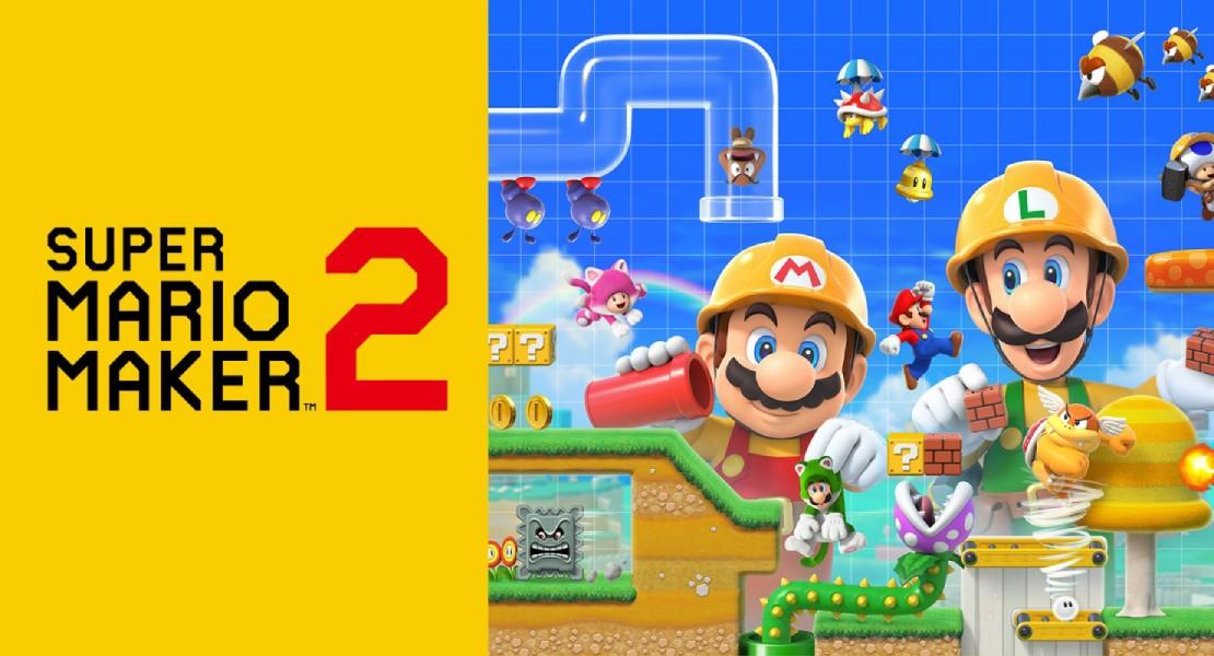 Super Mario Maker 2 tendrá modo cooperativo online con amigos