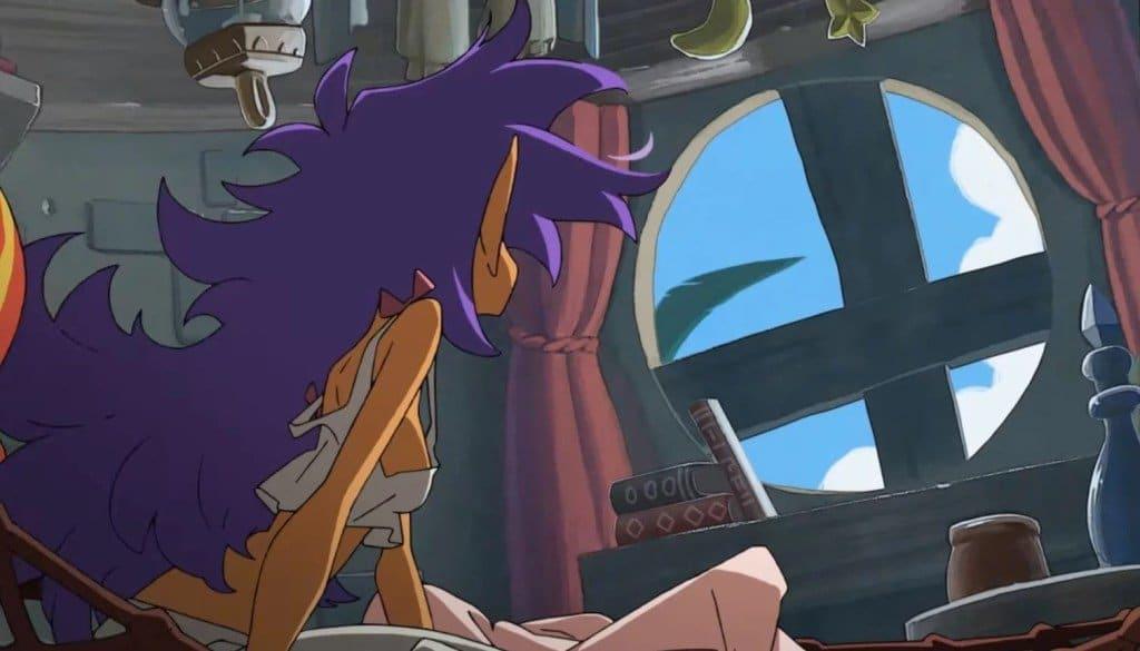 Se muestra el opening completo de Shantae 5 creado por Studio Trigger
