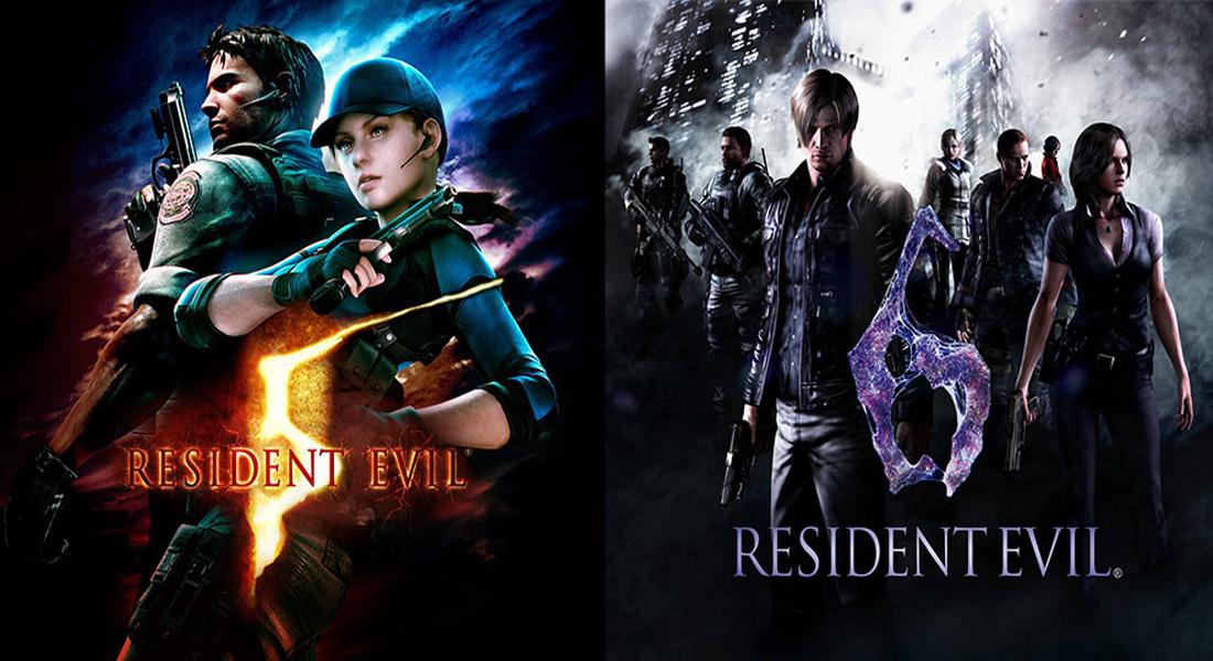 Resident Evil 5 y Resident Evil 6 ya tienen fecha en Nintendo Switch