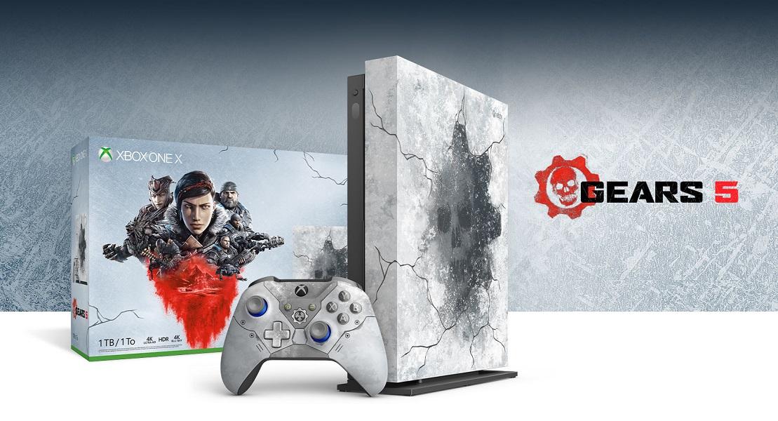 Microsoft prepara una increíble edición limitada de Xbox One con Gears 5