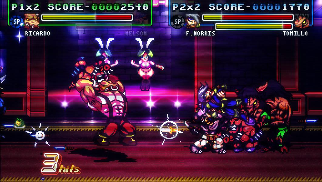 Fight'N Rage ya tiene fecha para consolas gracias al trabajo de Blitworks