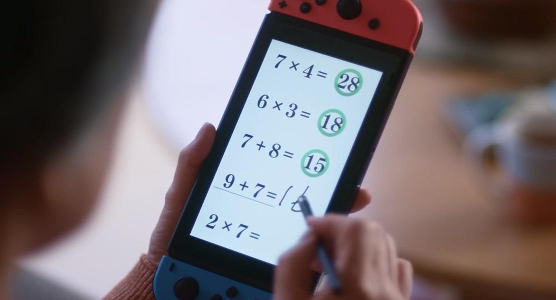 El Dr. Kawashima regresa con un nuevo Brain Training para Nintendo Switch