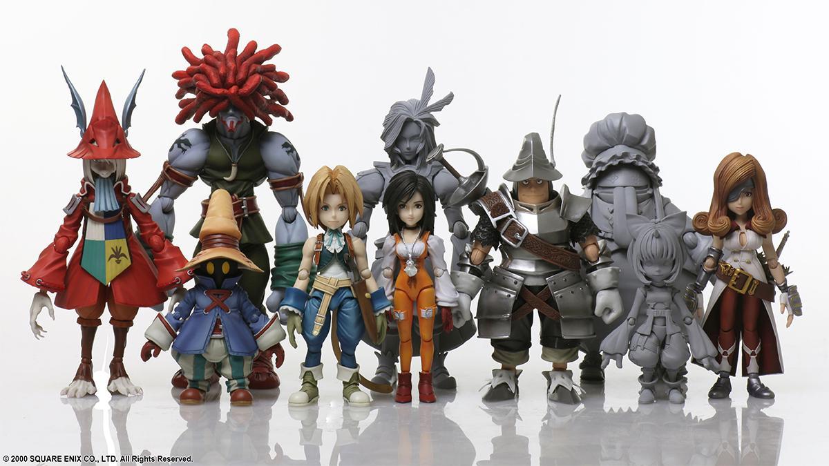 Reveladas las figuras de Eiko, Quina, Mog y una rana de la serie Final Fantasy IX - Bring Arts