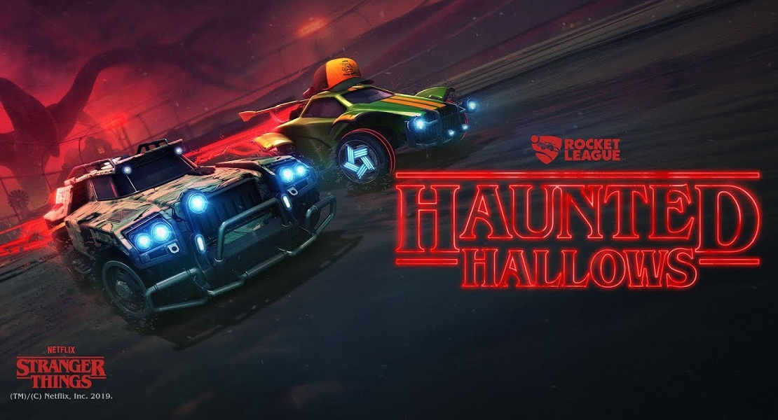 Rocket League y Stranger Things unen fuerzas gracias a Halloween