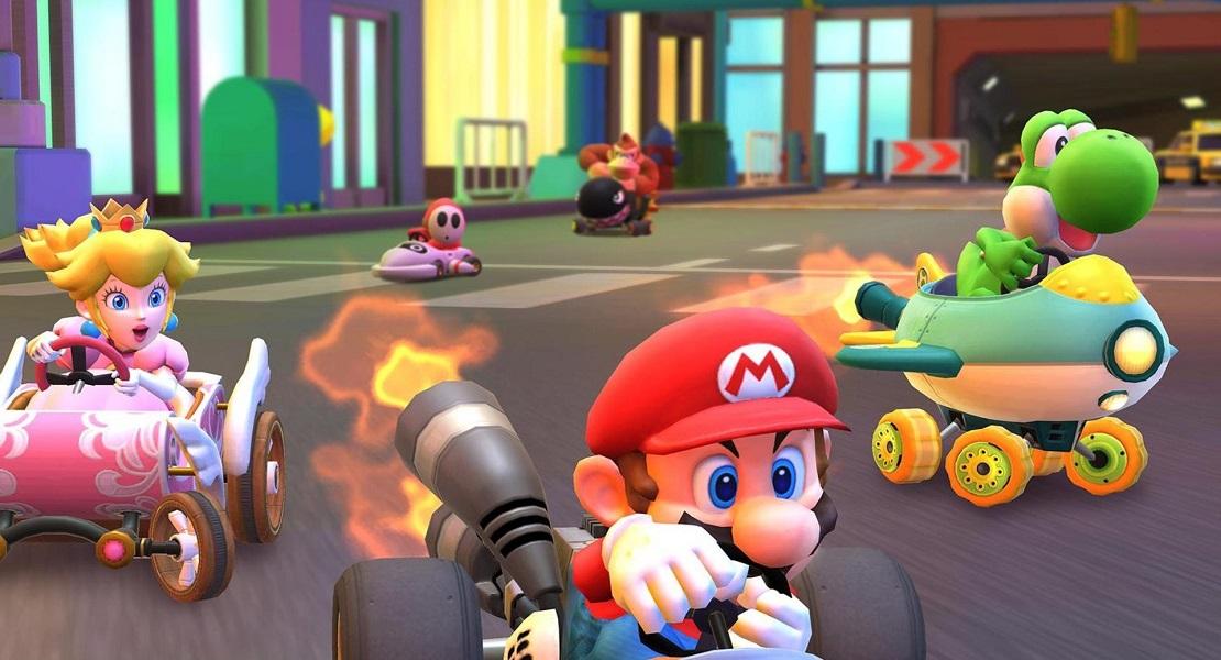 Luigi llega a Mario Kart Tour junto al evento de Halloween