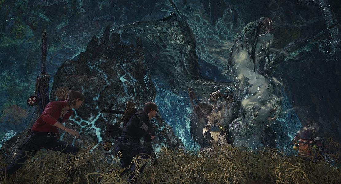 La colaboración de Resident Evil llegará mañana a Monster Hunter World: Iceborne