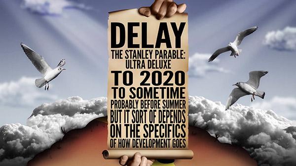 The Stanley Parable: Ultra Deluxe se retrasa a 2020 porque la vida oficinista es confusa