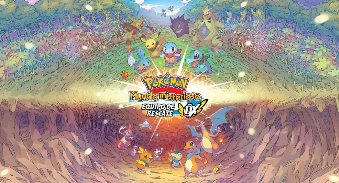 Pokémon Mundo Misterioso renacerá en Switch en marzo