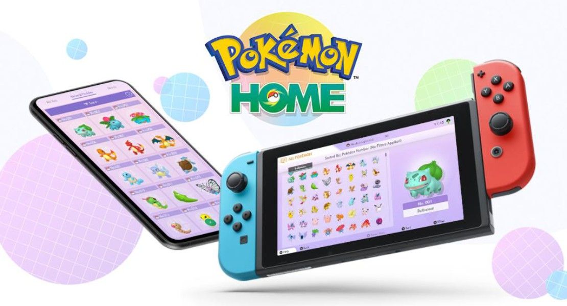 Ya disponible Pokémon Home en Switch, iOS y Android