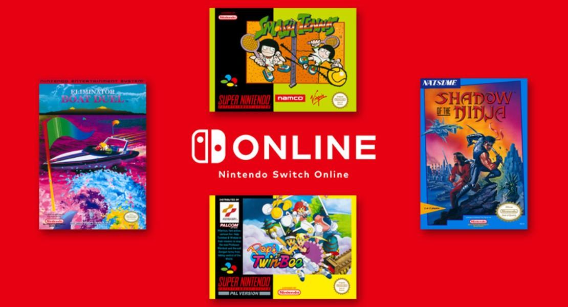 Cuatro nuevos juegos se incorporarán a Nintendo Switch Online la próxima semana