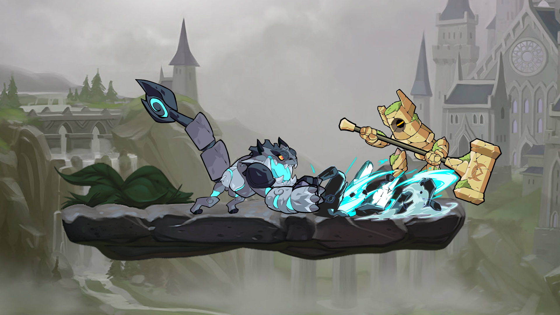 Onyx la gárgola, de mirada pétrea y duro corazón, llega a Brawlhalla