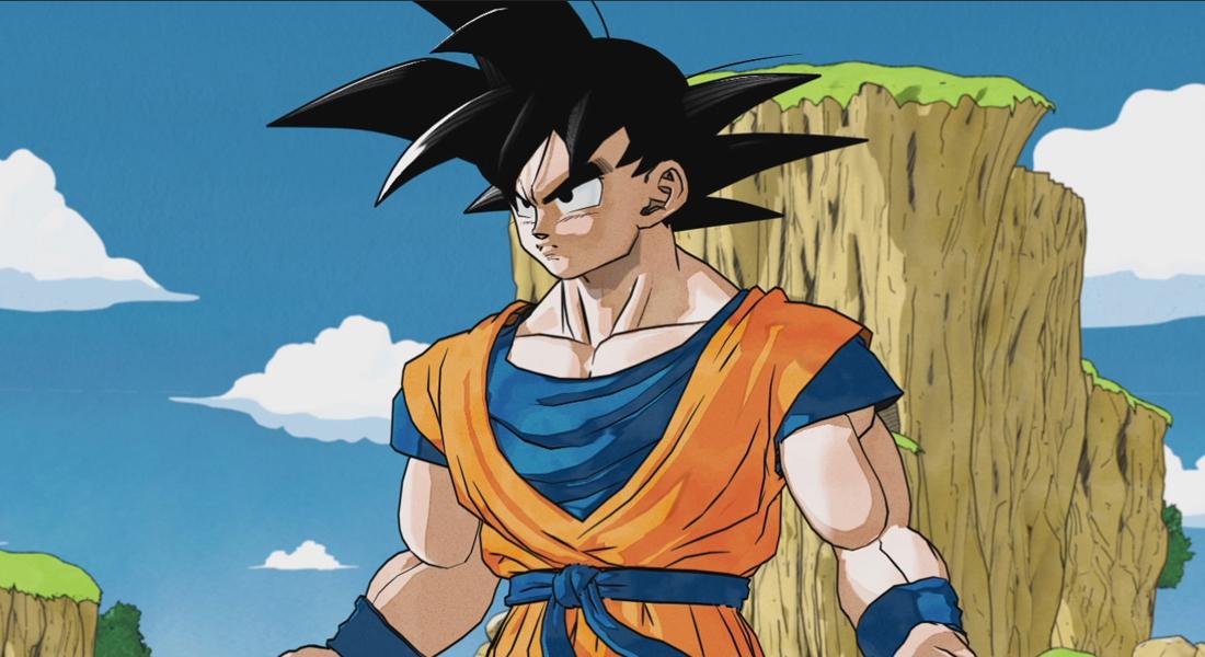 El apartado artístico inicial de Dragon Ball Z: Kakarot era más de estilo manga