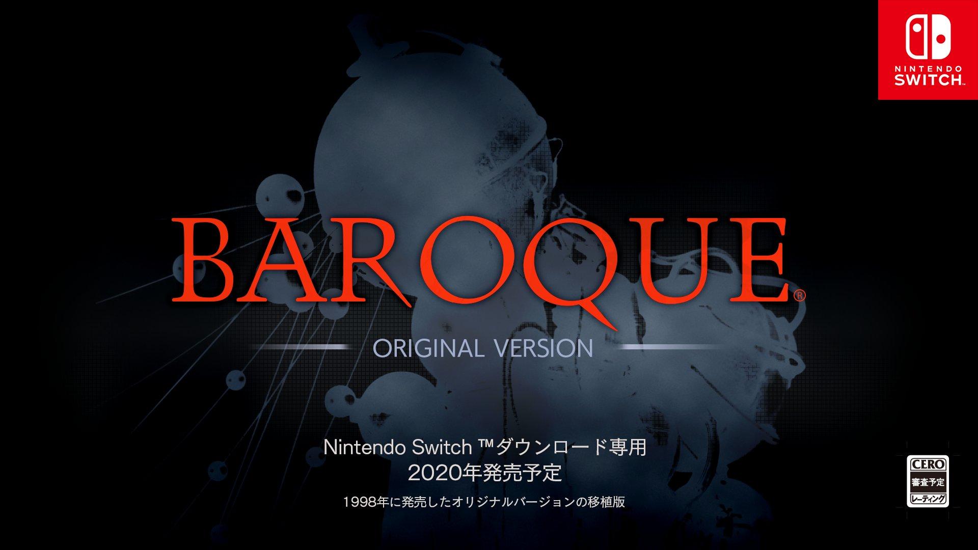 Baroque, el clásico de SEGA Saturn, saldrá para Switch