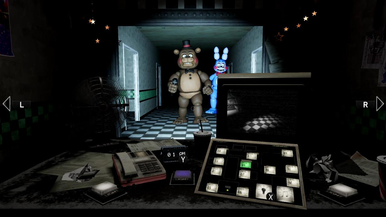 Five Nights at Freddy's: Help Wanted llega a Switch rodeado de almas de niños condenados