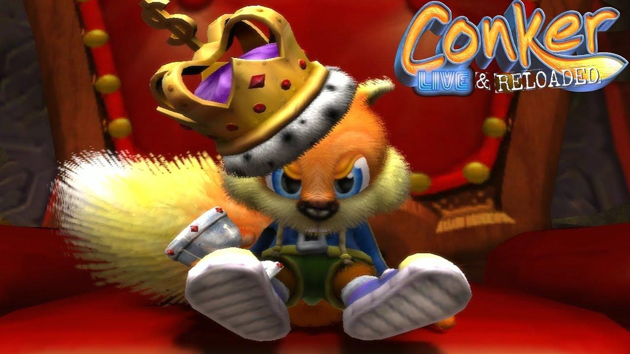 Conker: Live & Reloaded cumple 15 años como el roedor más bribón