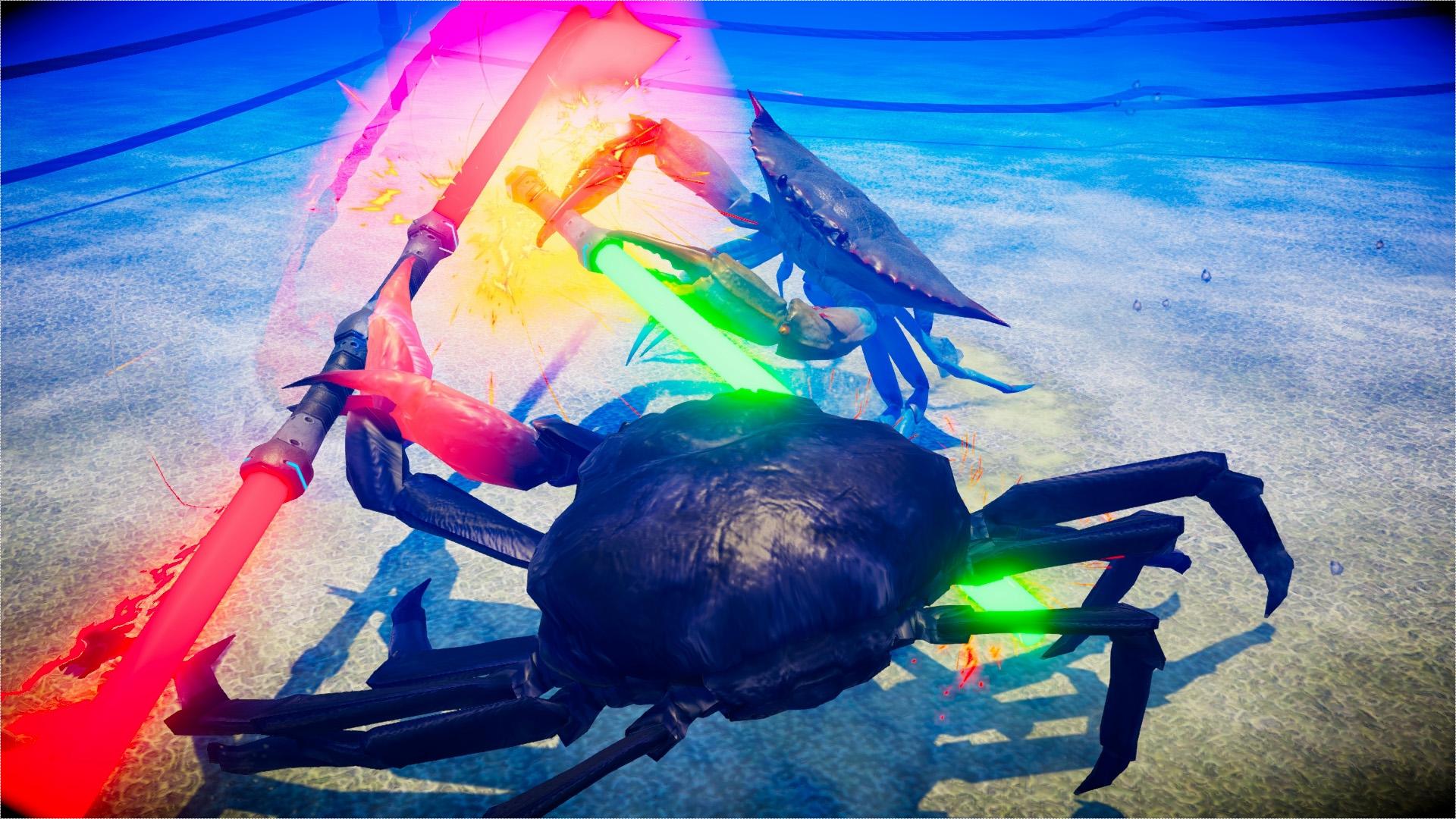 Fight Crab llegará a Switch porque todos necesitamos un crustáceo campeón