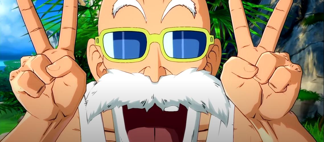 Maestro Roshi es anunciado para Dragon Ball FighterZ