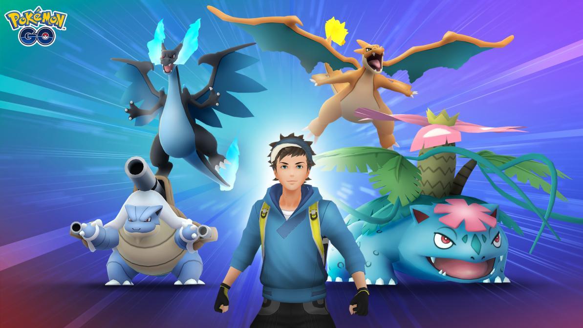 Las megaevoluciones llegan a Pokémon Go