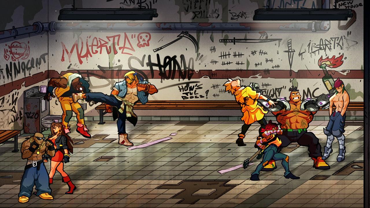 Streets of Rage 4 ha sido muy descargado y se actualiza con una mejora