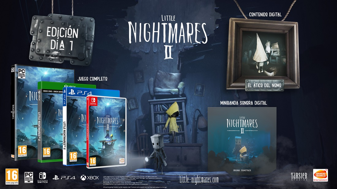 Little Nightmares II ya está listo para reservar